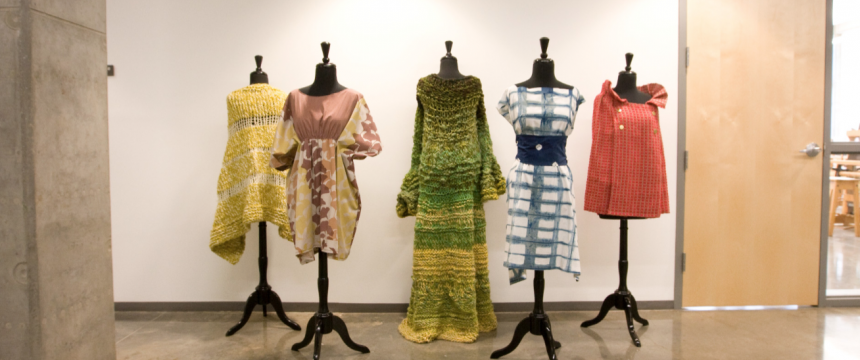 Lamar Dodd School of Art: Fabric Design Dresses and Jackets on Display